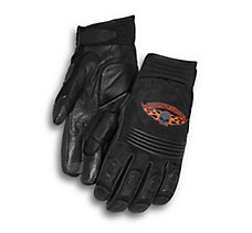 Skull Touchscreen Tech Gloves