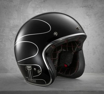 Elite Retro 3/4 Helmet
