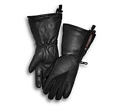 Gage Leather Gauntlet Gloves