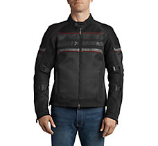FXRG Mesh Slim Fit Riding Jacket