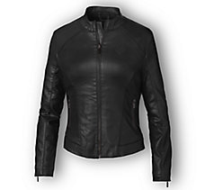 Wing Back Coated Jacket
