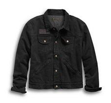 Overdyed Slim Fit Denim Jacket