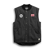Quilted Slim Fit Workwear Vest