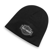 Logo Patch Knit Hat