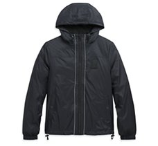 Packable Hooded Nylon Jacket