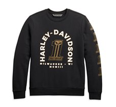 Gold #1 Skull Slim Fit Pullover