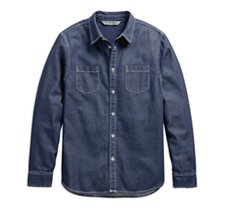 Dark Wash Slim Fit Shirt