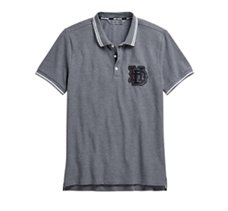 Melange Slim Fit Polo