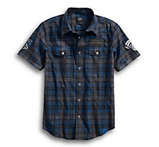 115th Anniversary Plaid Washed S...