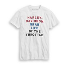 By The Throttle  Tee