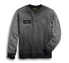 Crew Neck Pullover Slim Fit Swea...