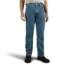 Traditional Fit Jeans - Blue