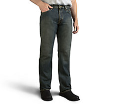 Bootcut Jeans - Washed Blue