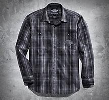 Harley Davidson Flannel Shirt Jacket