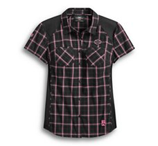 Pink Label Performance Plaid
