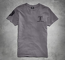 Grey Wounded Warrior Project Tee
