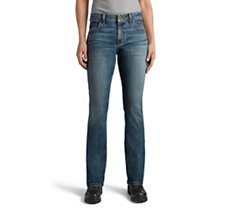 Curvy Bootcut Performance Jeans