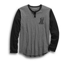 HDMC #1 Slim Fit Baseball Tee