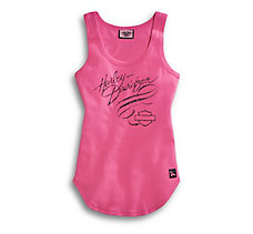 Pink Label Scroll Tank