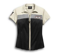 H-D Racing Zip-Front Shirt