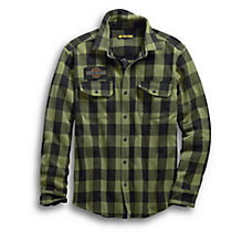 Buffalo Plaid Slim Fit Shirt