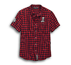 Checked Plaid Slim Fit Shirt