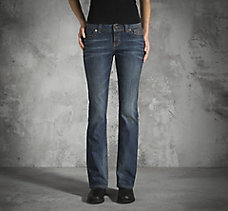 Boot Cut Low-Rise Jeans