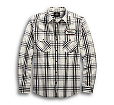 H-D Racing Long Sleeve Plaid