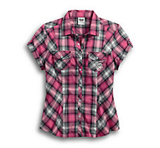Pink Label Snap Front Shirt