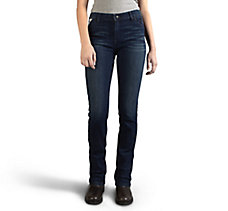 Slim Boot Cut Mid-Rise Jeans