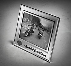 chrome 5 x 7 photo frame