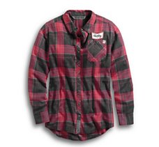#1 Skull Plaid Shirt