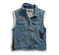 Blowout Denim Vest