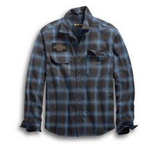 Plaid Oak Leaf Shirt