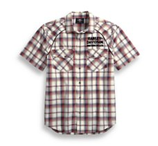 Upright Eagle Plaid Shirt