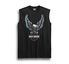 Upright Eagle Sleeveless Tee