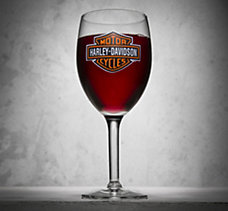 Bar & Shield Wine Glass