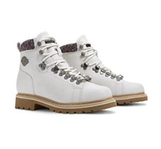 Akers Casual Boots  - White