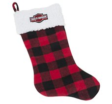 Holiday Stocking - Red Plaid