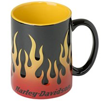 Sculpted Flames Mug