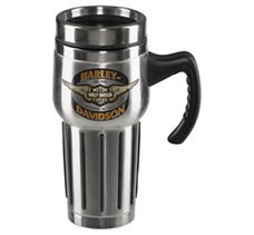 Winged Bar & Shield Mug