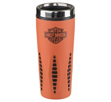 Bar & Shield Orange Travel Mug