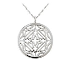 Bar & Shield Medallion Necklace