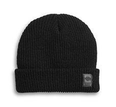 Cuffed Rib-Knit Hat