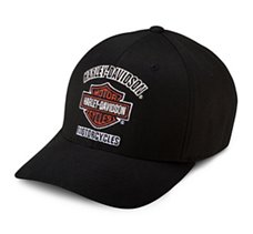 Traditional Logo Stretch Cap
