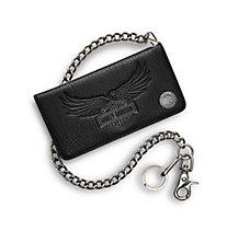 men's wallets & money clips | harley-davidson usa