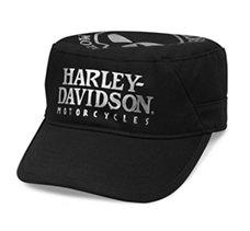 d542dae993 Womens Motorcycle Flat Top Hats | Harley-Davidson USA