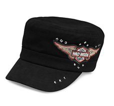 Winged Logo Flat Top Cap
