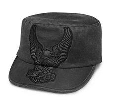 29338ecb1548a Eagle Appliqué Flat Top Cap