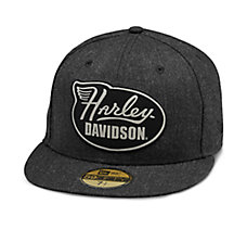 Winged Harley 59FIFTY Cap